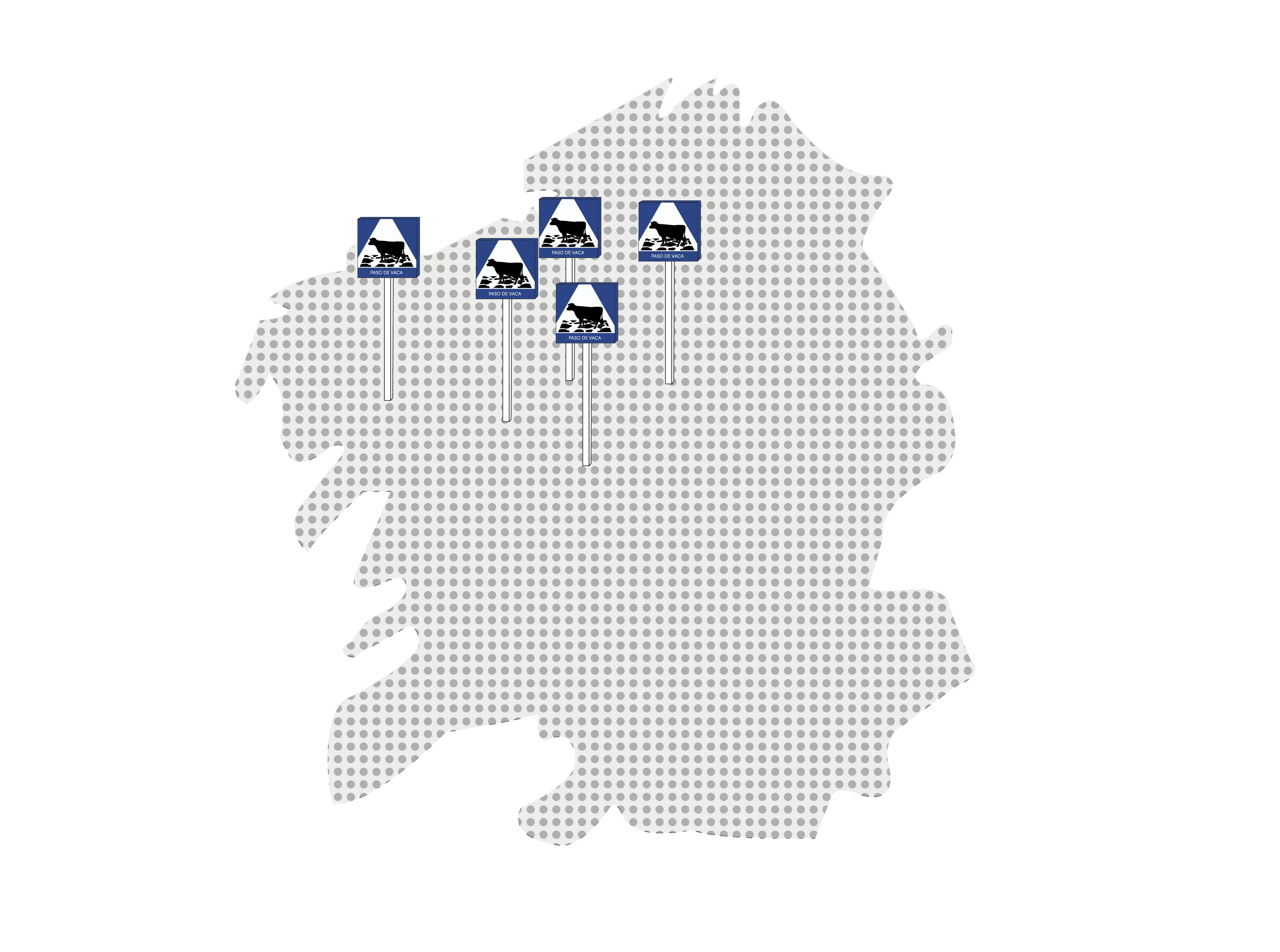 mapa xanceda 5 señales galicia